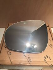 Fiat Punto Mk3 Hatchback 2012-2015 Heated Convex Wing Mirror Glass Drivers Side