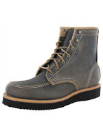 $365 Timberland Mens American Craft Moc Toe Boots
