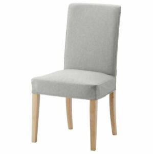 NEW IKEA HENRIKSDAL DINING CHAIR COVER SLIPCOVER ORRSTA GRAY 003.366.77 SEALED