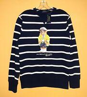 POLO BEAR RALPH LAUREN Men Navy Sailor Sweatshirt Pullover S M L XL 2XL XXL