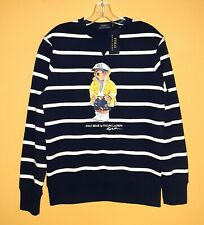POLO BEAR RALPH LAUREN Men Navy Sailor Sweatshirt Pullover S M L XL 2XL XXL