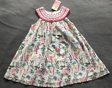 BNWT Baby Girls Summer Dress Flower Floral Evie Size 2years