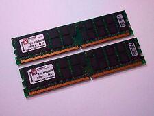 (2) Kingston KTH-XW9400K2/4G 2GB DDR2-677 PC2-5300 Server Memory HP Proliant
