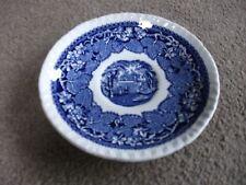 Masons Ironstone brevetto-Vista Inghilterra-Blu & Bianco SCENIC PIATTINO - 14.5 cm diametro