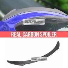 Real Carbon Fiber Rear Trunk Lip Spoiler V TYPE For TESLA 2012-2016 MODEL S