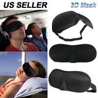 Eye Mask 3D Travel Sleep Memory Padded Shade Cover Sleeping Blindfold US Seller