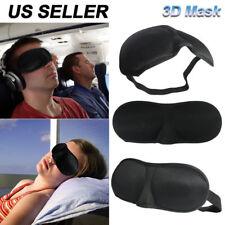 3D Eye Mask Travel Sleep Soft Padded Shade Cover Relax Sleeping Aid Blindfold