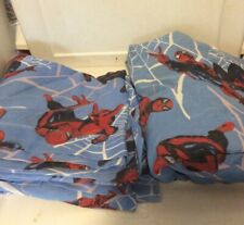 Marvel SPIDERMAN 2 Pc. Fitted & Flat Bed Sheet