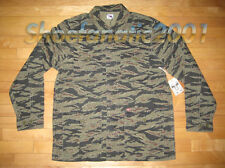 Obey Propaganda Dissent Tiger Camo Jacket Large SB Dunk Supreme Military