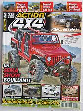 ACTION 4X4  N° 68 /BMW X1 2.0 dX-DRIVE/prépa JEEP/ Argentine au Canada en HZJ 79