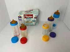 💕 New 2001 Playtex Disposable Complete Nurser Bottle Set Of 5 Variety Pack I2 S