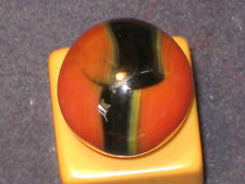 GANGBUSTER LOUD ORANGE TRI COLOR MULTI COLOR WEST VIRGINIA MARBLE KING MARBLES