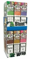 1 Box (25 Pck/50 Blunts) Blunt Wrap Double, verschiedene Sorten