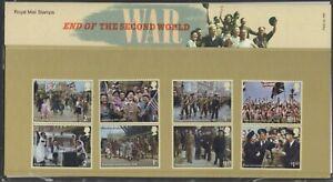 2020  End Of 2nd World War + Mini Sheets Presentation Pack 585 - Ref:5627