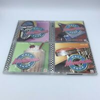 Lot of 4 Time Life Malt Shop Memories CD Albums - All I Do is Dream Top Down