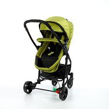 Kombikinderwagen + Autositz, 3in1, grün-schwarz, poussette, pushchair