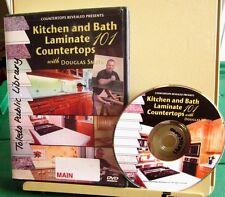 KITCHEN & BATH LAMINATE COUNTERTOPS 101 instructional Douglas Smith DVD repair
