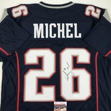 sony michel jersey signed   eBay