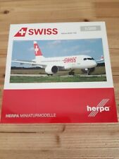 Herpa 558471-001 - 1/200 Swiss International Air Lines Airbus A220-100