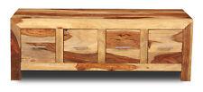Living Room Furniture Cube Light Sheesham 4 Drawer Coffee Table (c16l)