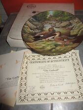 """"""" The Gadwall """" Living with Nature : Jenner's Ducks Collector Plate Coa & Box"""