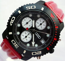 Audi Quattro RS4 RS6 RS8 RS S Motorsport Racing Sport Design Chronograph Watch