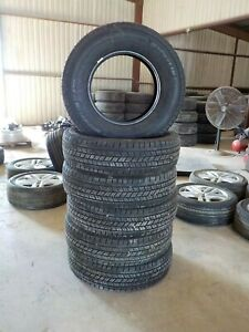 Set of 6 Michelin Energysaver A/S 235/80R17 120R 10-Ply Tires   DOT 3920