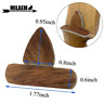 1 Set Archery Arrow Rest Traditional Leather Silent Plate RH Recurve Bow Hunting