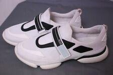 PRADA men's white and black sneakers shoes Prada 10 / US 11 - 11.5
