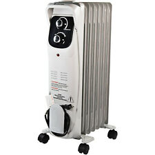 Comfort Zone Rolling Silent Operation Oil Filled Home Radiator Heater (Open Box)