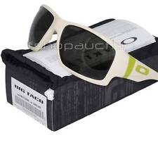 Oakley OO 9173-07 BIG TACO Matte Bone Dark Grey Mens Sunglasses Clearance Sale