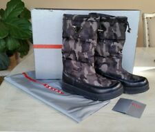 PRADA Women's Camo Snow Boots size 37.5 IT/ US 7, $850