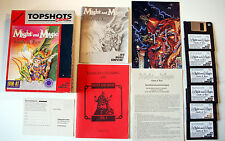 """MIGHT AND MAGIC 4 - CLOUDS OF XEEN - 3,5""""-Disketten - komplett in Bigbox  -  DOS"""
