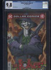 Dollar Comics: Joker #1 CGC 9.8 - Dick Giordano 2019