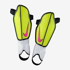 Nwt Nike Protegga Flex Shin Guards Adult Medium Soccer Football Green Pink Black
