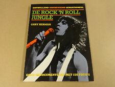 BOEK / DE ROCK 'N ROLL JUNGLE (GARY HERMAN)
