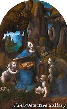 Virgin of the Rocks by Leonardo da Vinci - Classical Art Print