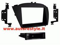 Mascherina autoradio monitor navigatori 1 din e 2 din Hyundai ix35 dal 2014