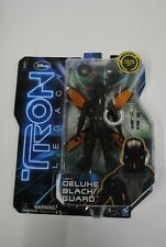Deluxe Black Guard Action Figure Tron Legacy 2010 Spin Master New on Card 3B6
