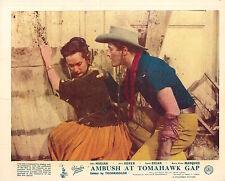 AMBUSH AT TOMAHAWK GAP ORIGINAL LOBBY CARD JOHN HODIAK MARIA ELENA MARQUES