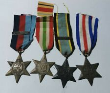 4 x British medals Battle of Briatin clasp the Air Crew Europe star Italy star