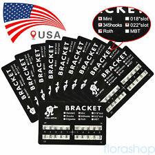 10pack Dental Orthodontic Brackets Braces Mini Roth Slot022 3 4 5 Hook 2 200pc