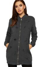 Manteaux et vestes gris coton pour femme taille 40