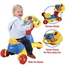 VTech Grow & Go Ride On Kids Baby Toy Rocker, Lights Sounds Educational