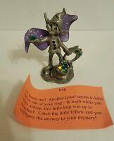 Medieval Sunglo Pewter Imp Figurine Fantasy Figure Crystals New