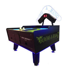 Great American Boom A Rang Air Hockey Home with LEDs & Marquee
