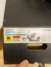 Burton CARTEL Snowboard bindings* Rare! RESTRICTED matte Black MEDIUM
