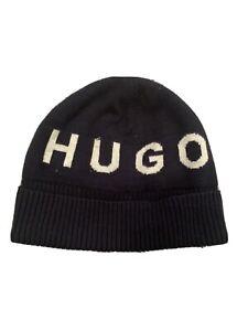 Hugo Boss Baby Boy Beanie Hat 46cm Navy Excellent Condition