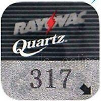 4 Rayovac 317 Silver oxide Watch Batteries SR516SW 621