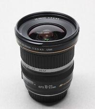 Canon EF-S 10-22mm f/3.5-4.5 USM Ultrasonic Wide Angle Zoom Lens